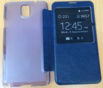 Чехол для Samsung N9005 / N9000 Galaxy Note 3 синий S View Cover *08418
